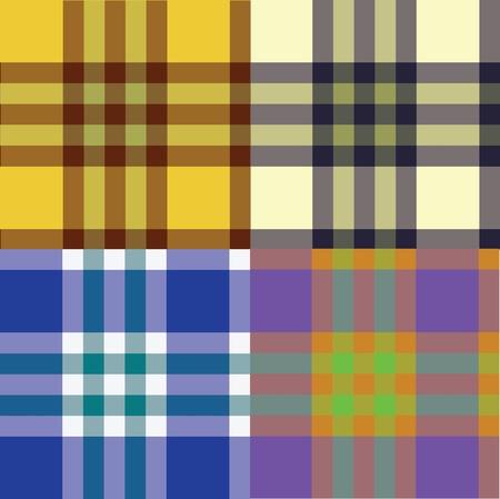 Color fabric plaid. Stock Photo - 9251525
