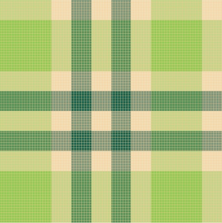 Color fabric plaid. Seamless vector illustration. Vector