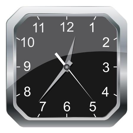 壁時計の図。