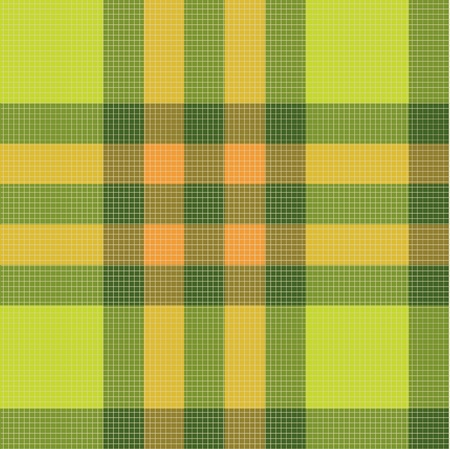 Color fabric plaid Vector