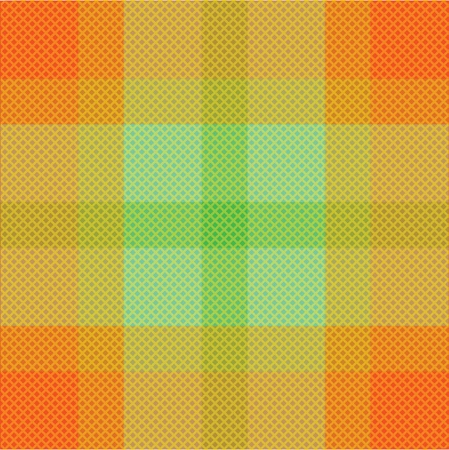 Color fabric plaid. Seamless illustration. Vector