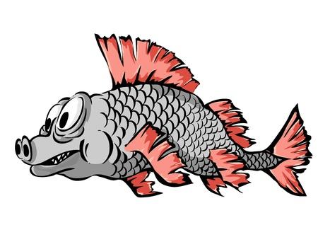 A small fish illustration Stock Vector - 13099941