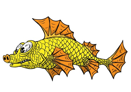 A small fish illustration  Vector