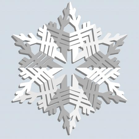natale: Snowflakes  illustration