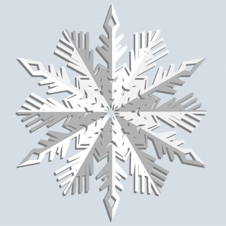 Snowflakes  Vector illustration  Stock Vector - 14748248