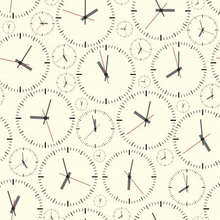 wall clock: Wall clock  Seamless  Illustration