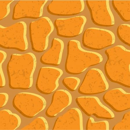 rubble: Stone textura de fondo sin fisuras Vectores