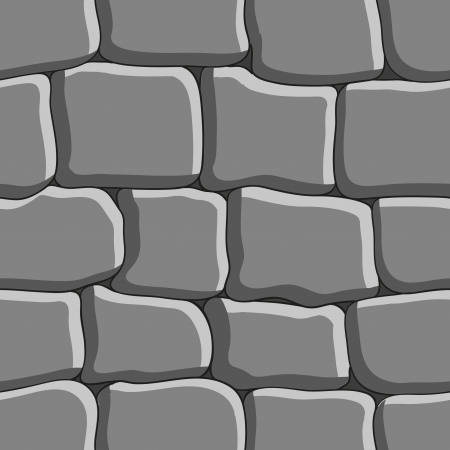 stone floor: Stone background  Seamless texture  Illustration