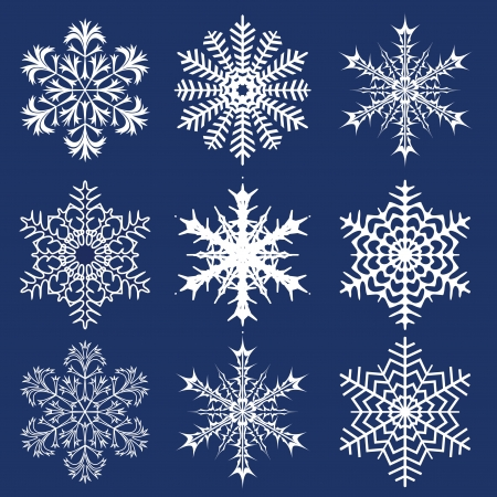 Christmas background  Snowflakes Stock Vector - 16793915