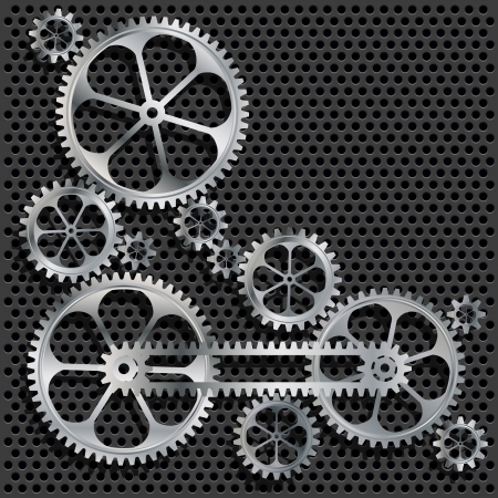 Technical background  Abstract gear