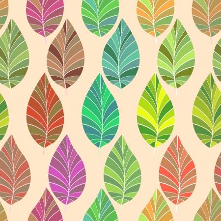 シームレスな葉や枝