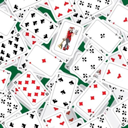 jeu de carte: Carte transparente