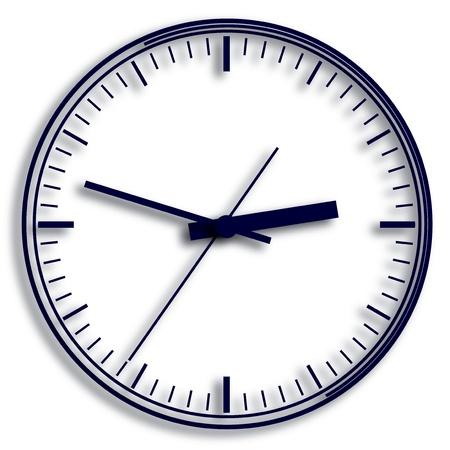 wall mounted: Wall mounted digital clock.