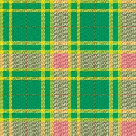 Tartan, plaid pattern.  Vector