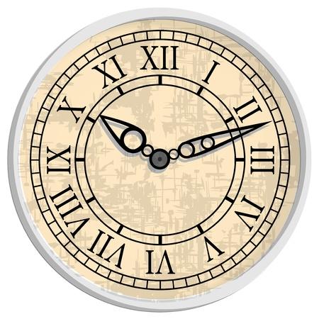 numeral: Antique clock.