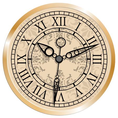 antique clock: Antique clock