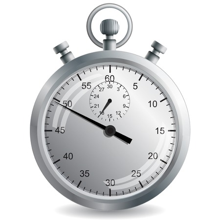 Stopwatch. Vector illustration. Vector
