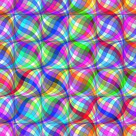 outage: Abstract background from geometrical figures.