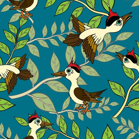 flor: Birds and branches