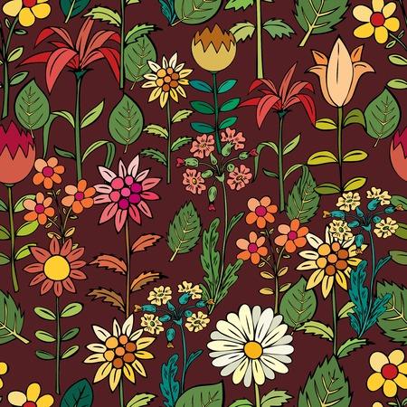 flor: Various summer flowers.