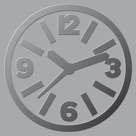reloj de pared: Varias variantes de esferas de los relojes abstractos.