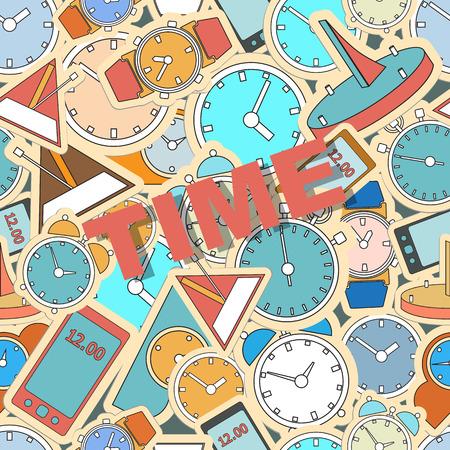 wall mounted: Wall mounted digital clock. Seamless