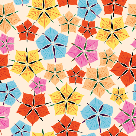 flor: Background made up of flowers and plants.