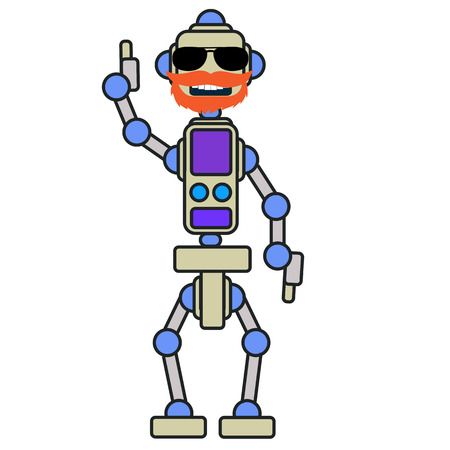 To work well, the robots have to knead the joints and hinges.