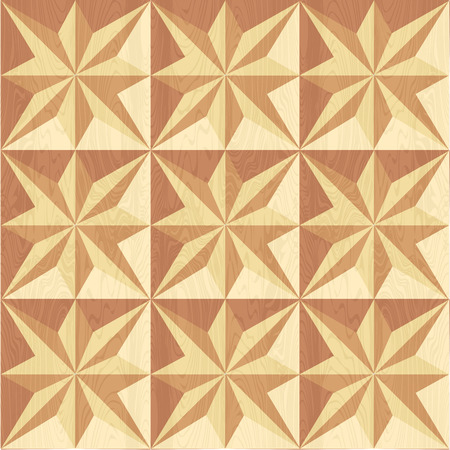 wood carving: Geometric pattern for wood carving.