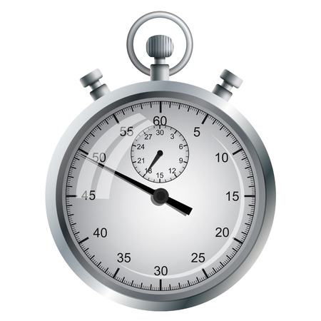 precise: The device for the precise measurement of time intervals. Manual mechanical stopwatch.