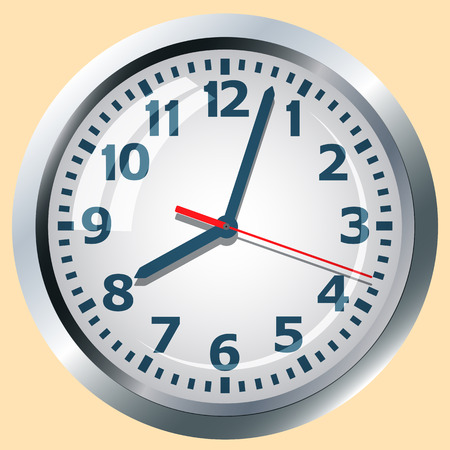 denote: Image clock dial. Scheme relations and arrows denote time.