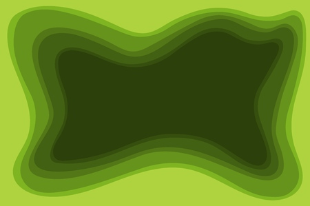 Abstract form. uncertain form design. Vector illustration.