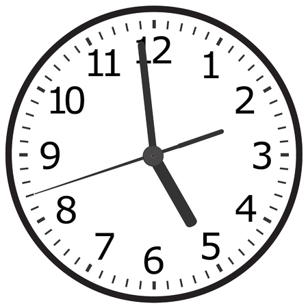 Clock icon. World time concept. Business background. Internet marketing. Daily infographic