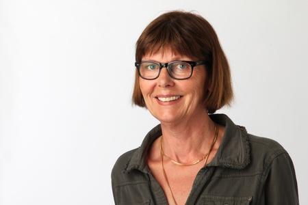 old year: Donna di 60 anni con gli occhiali