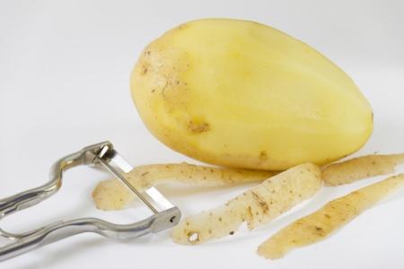 Peeled Potatoe