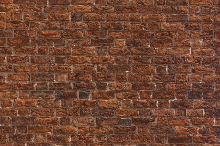Red brick wall Standard-Bild