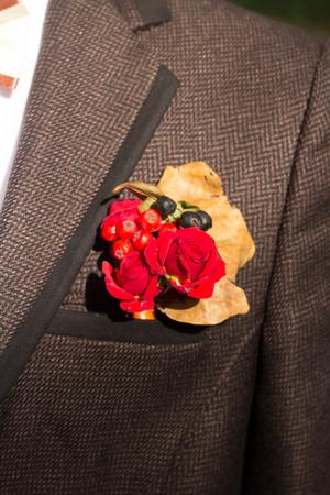 buttonhole: grooms buttonhole