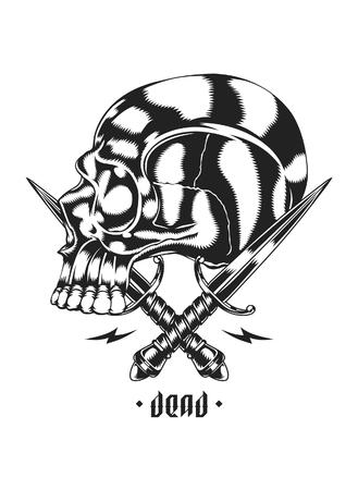 Skull and Crossed Dagger