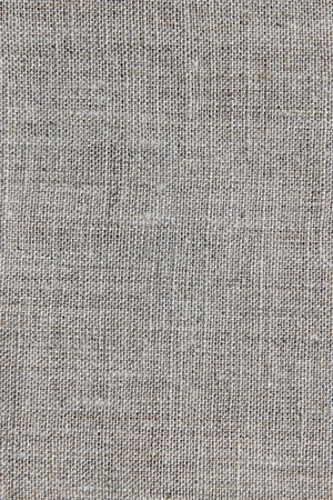 grey natural linen texture for the background Stock Photo