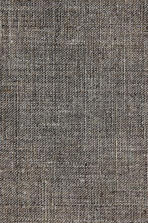 estructura: oscuro textura lino natural para el fondo Foto de archivo