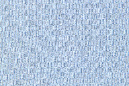 cotton blue fabric with pattern photo