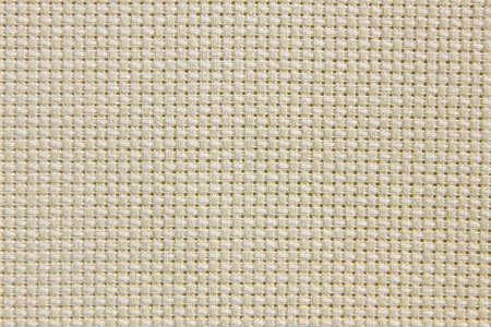 sand-coloured natural cotton texture with dark lines for the background, canvas Stock Photo