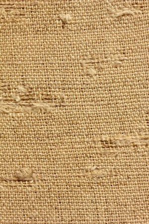 yellow natural old linen texture for the background Stock Photo - 11278815