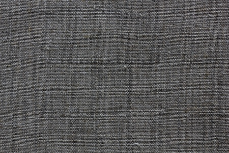 dark grey natural linen texture for the background Stock Photo - 13514043