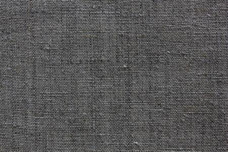 sacco juta: grigio scuro tessuto lino naturale per lo sfondo