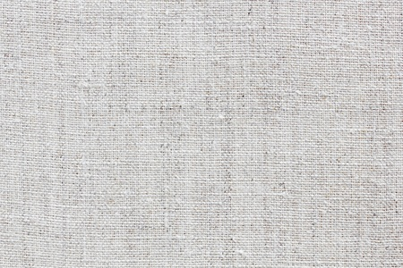white natural linen texture for the background Stock Photo - 13514038