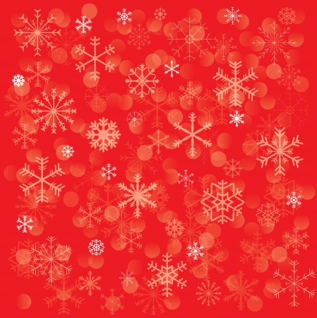 new year background whith snowflake Stock Vector - 16727609
