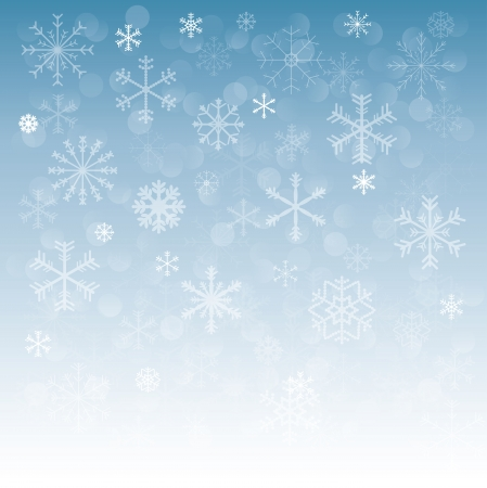 new year background whith snowflake Vector