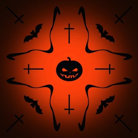 drakula: Halloween background, illustration  Stock Photo