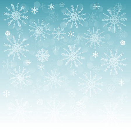 yuan: new year background with snowflakes with symbols of money  dollar, euro and yen  yuan